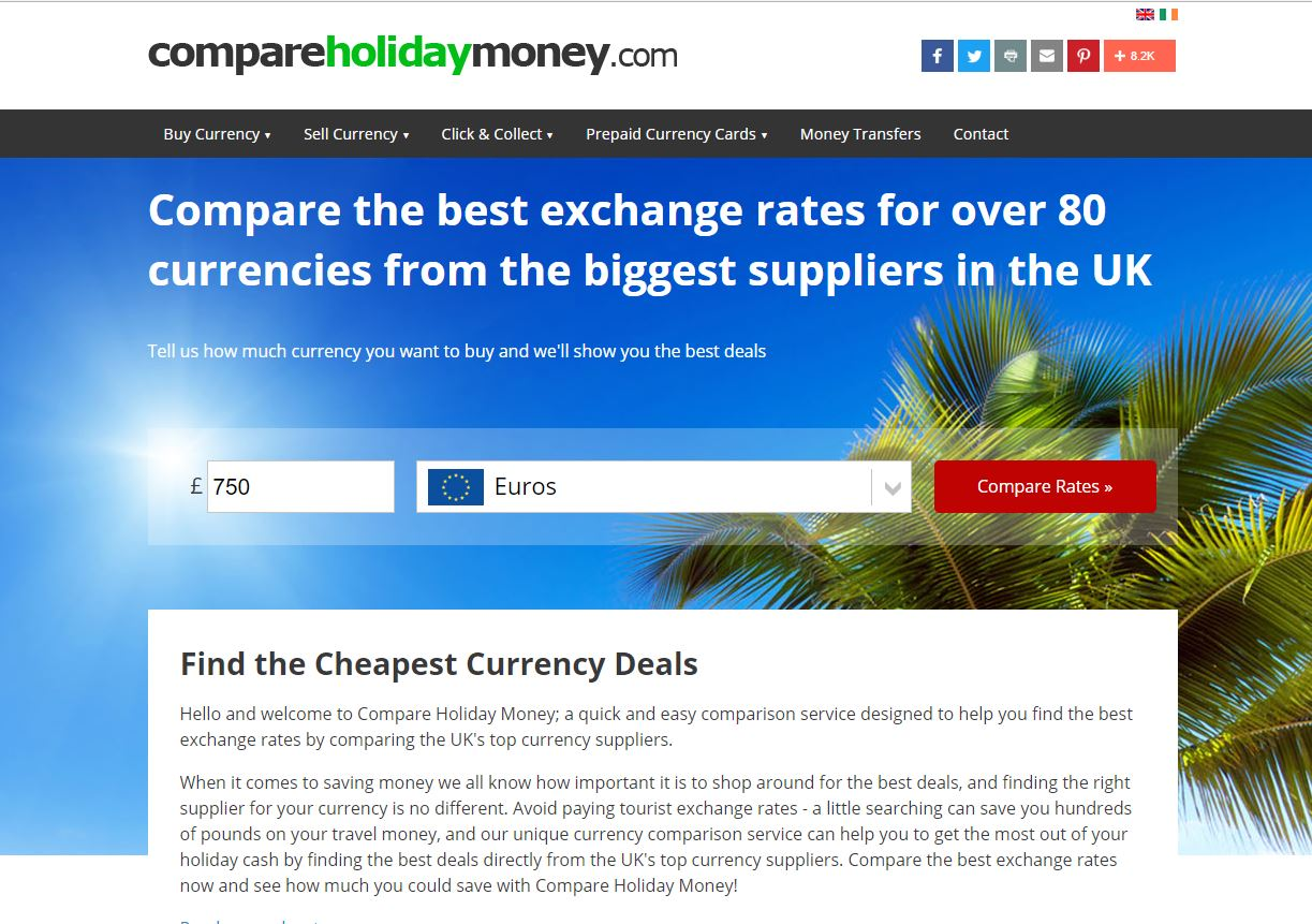 Compare-holiday-money-homepage